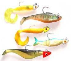 Секреты рыбалки: силиконовая приманка