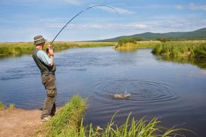 Рыбалка в Караганде в любое время года