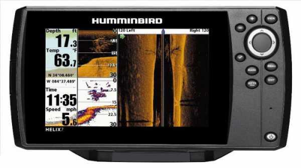 Эхолоты Humminbird: характеристики, отзывы, фото