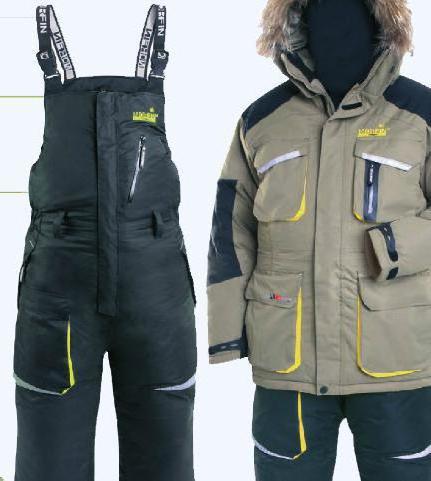 Какой выбрать костюм для зимней рыбалки российского производства?