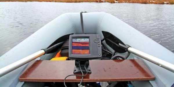 Как выбрать эхолот для резиновой лодки?