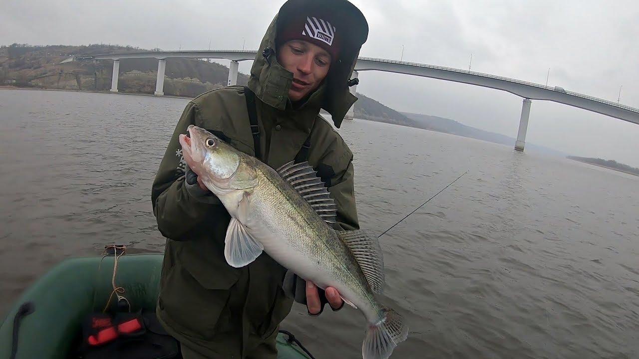 Поставил эту приманку и поймал судака! Рыбалка на спиннинг.