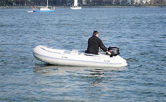 """Надувная лодка """"Фрегат 280"""": модели, комплектация"""