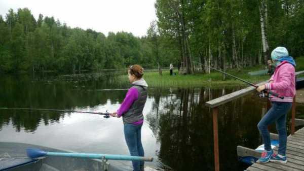 Любимовское озеро богато на щуку