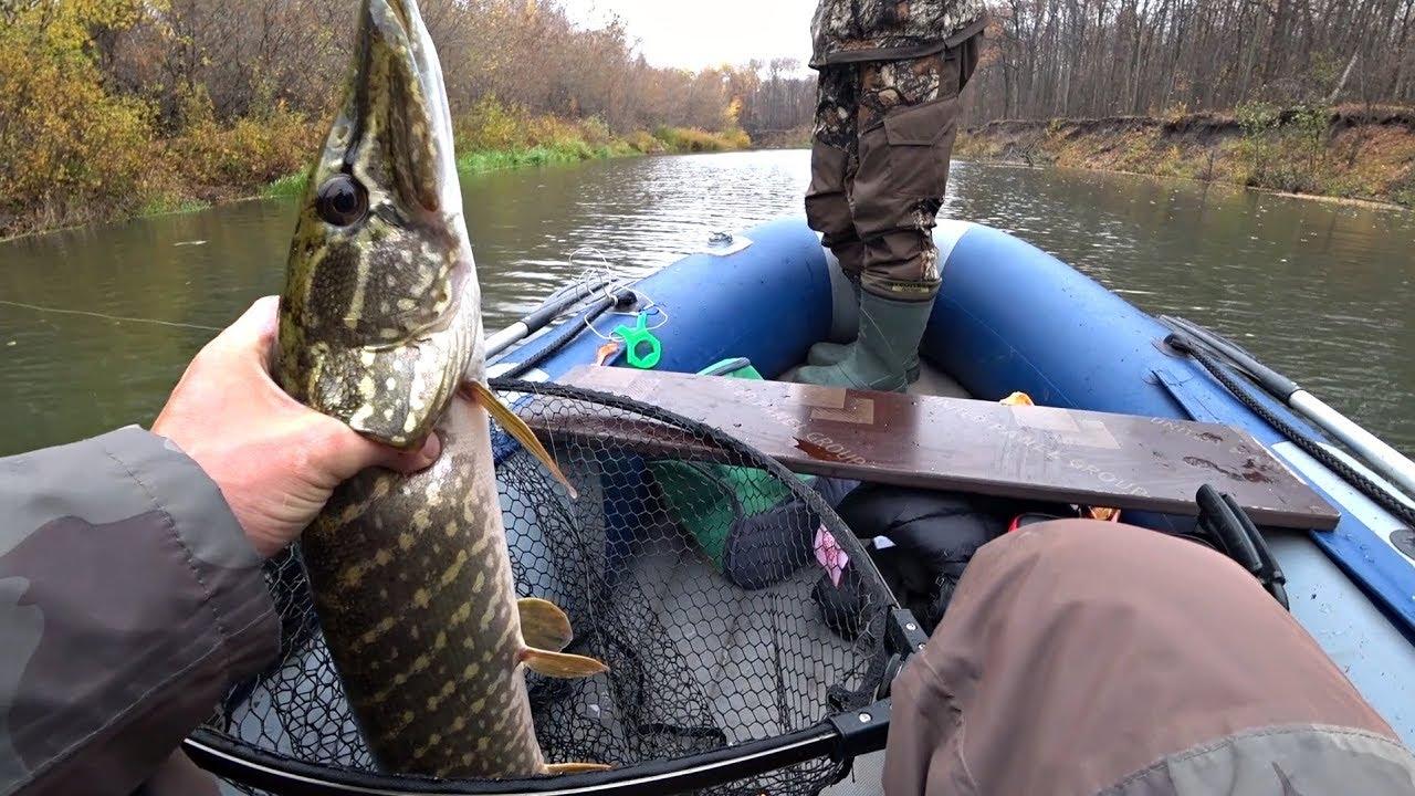 Уловистая приманка на ЩУКУ! Ловля щуки осенью на спиннинг. Рыбалка.