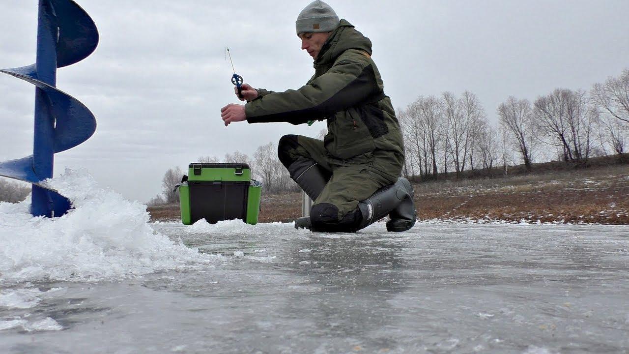 Ловля КАРАСЯ зимой со льда.